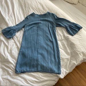 Zara Light Blue Dress